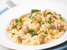 Ριζότο με μανιτάρια Serbian Recipes, Serbian Food, Great Recipes, Favorite Recipes, Ways To Stay Healthy, Mushroom Risotto, Healthy Weight, Fried Rice, Food Hacks