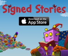 Welcome to Signed Stories - British Sign  Would love to find more in ASL, too!