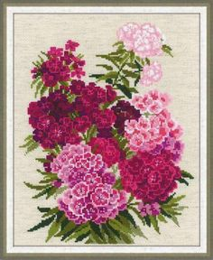 Riolis Oxalis Flowers and Dragonfly - Cross Stitch Kit. Riolis cross stitch kit featuring flowers and a dragonfly. This cross stitch kit includes 14 count flaxe Dragonfly Cross Stitch, Cross Stitch Flowers, Cross Stitching, Cross Stitch Embroidery, Hand Embroidery, Cross Stitch Designs, Cross Stitch Patterns, Sweet William Flowers, Counted Cross Stitch Kits