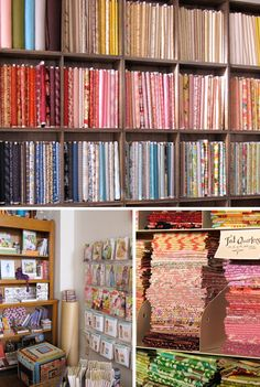 The Work Room, Toronto. Best fabric selection!