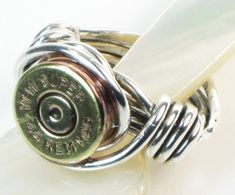 Bullet jewelry. Insert bad pun about packing a serious punch here.