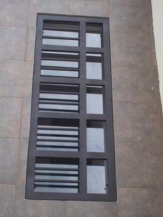 Balcony Grill Design, Balcony Railing Design, Window Grill Design, Front Door Paint Colors, Painted Front Doors, Big Doors, Windows And Doors, Burglar Bars, Metal Grill