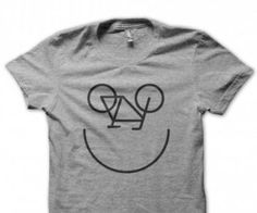 Happy Bike T Shirt - celebrate your biking pride with this t-shirt!