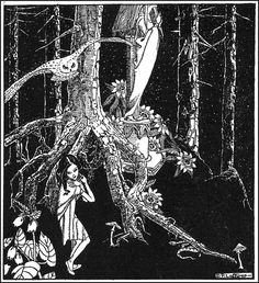 The Little Creature - Down-Adown-Derry; A book of Fairy Poems by Walter De La Mare; published by Constable & Co, 1922