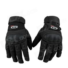 OUMILY Outdoor Tactical Full-finger Gloves - Black (Size M / Pair) Price: $15.50