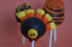Thanksgiving cake pop