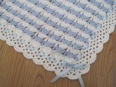 Most beautiful and useful baby blanket!Great baby shower gift! | madewithlovebyfatima - Children's on ArtFire