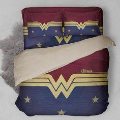 $85 Wonder Woman Bedding Set