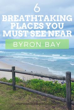 6 Breathtaking places you must visit when visiting Byron Bay, Australia