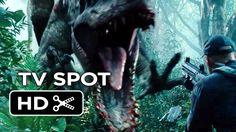 Jurassic World TV Spot - Nightmares Are Born - Dinosaur Thriller HD Jurassic World, Jurassic Park, World Tv, Thriller, Movies, Movie Posters, Films, Film Poster, Cinema