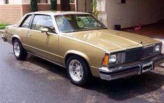 "My 1981 Chevy Malibu ""mantequilla"""