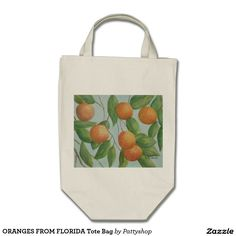 ORANGES FROM FLORIDA Tote Bag