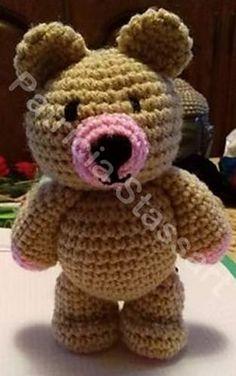 Ravelry: Standing Bear pattern by Patricia Stassart