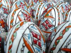Picture of Easter eggs stock photo, images and stock photography.