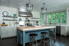 An Artisan Kitchen at a Briarcliff Hilltop - contemporary - Kitchen - New York - Fivecat Studio | Architecture