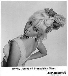 Wendy James, Transvision Vamp, 80s Pop, Beautiful Female Celebrities, Punk Princess, Pop Punk, Black N White, My Images, Pretty Girls
