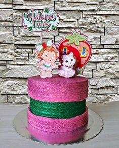 Bolo da Moranguinho: 80 ideias delicadas e tutoriais de como fazer 1st Birthday Parties, Cake, Children, Bb, Party Ideas, Strawberry Shortcake Birthday, Pastry Art, Cake Photos, Pie Cake
