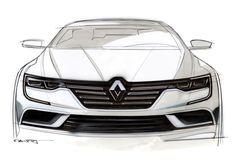 Renault dévoile son TALISMAN - Croquis par Alexis Martot