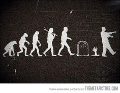 Evolution continues its course…(No, I don't really believe in evolution. It is just funny)