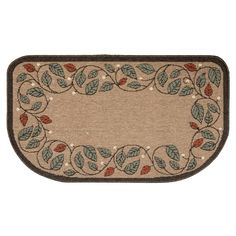 Flame-Resistant Hearth Rug – Berry & Vine