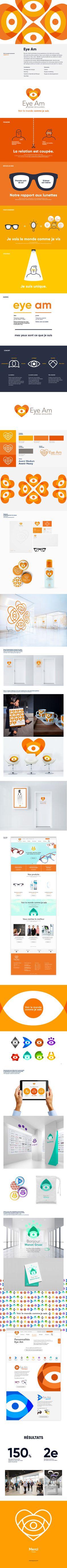 Manon Gruaz on Behance Design System, Flat Design, Eyeglasses, Identity, Behance, Branding, Concept, Website, Heart