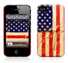 GelaSkins - Stars and Stripes - iPhone 4S, 4 HardCase | GelaSkins