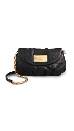 Lusting after the Marc by Marc Jacobs Classic Q Karlie Bag in black. Good small bag to carry essentials in!