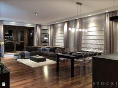 Penthouse Wilanów - salon - zdjęcie od Stocki Design - Salon - Styl Nowoczesny - Stocki Design