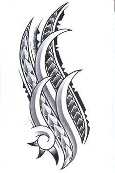 Polynesian Tattoo Designs, Maori Tattoo Designs, Tattoo Design Drawings, Tattoo Sleeve Designs, Sleeve Tattoos, Art Drawings, Native Tattoos, Tribal Tattoos, Tatoos