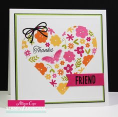 Your Memories with Ally: Stamp of Approval: Lovely Notes Collection Blog Hop