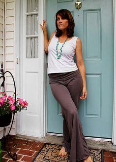 DIY yoga pants!