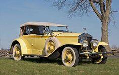 The Great Gatsby - 1928 Rolls-Royce 40/50hp Phantom/Ascot Dual Cowl Sport Phaeton
