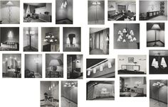 JEAN ROYÈRE Twenty-four gelatin silver prints, 1952-53  Largest: 22 x 14 cm (8 5/8 x 5 1/2 in) Each signed in black ink on the mounts (24).