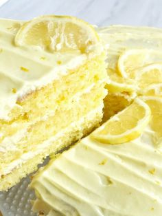 Easy Lemon Layer Cake ~ Weekend Potluck #281 | The Country Cook | Bloglovin'