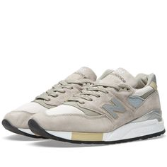 New Balance M998CEL - Made in the USA (Grey & Silver)