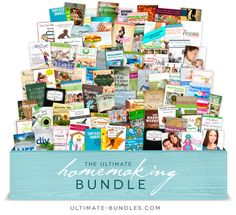 Get ALL of these eBooks for 1 LOW Price! One Week Only! I loved the fall bundle and can't wait to start reading through some of the resources in this one.