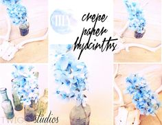 ..Twigg studios: crepe paper hyacinths tutorial
