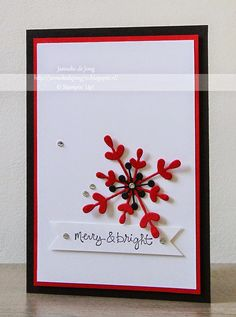 Stampin' Up! Demonstratrice Janneke : Stampin' Up! - Merry & Bright
