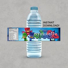 Hey, I found this really awesome Etsy listing at https://www.etsy.com/nz/listing/556718548/pj-masks-inspired-water-bottle-labels