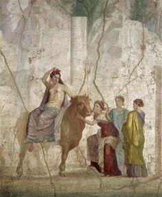 Fresque de Pompéi (Ier siècle)