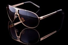 """Classic luxury racing aviators, the """"Champion"""". All metal frames, spring temple for comfort fit, quality hand polished, with an attention to workmanship and det"""