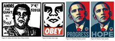 Popular works by Shepard Fairey