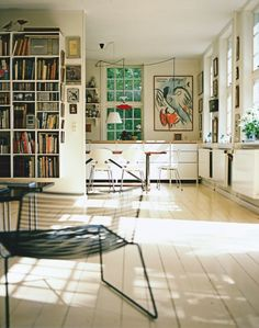 home of Marianne Tuxen & Morten Langebæk Living Spaces, Living Room, White Rooms, Interior Design Inspiration, My Dream Home, Home And Living, Interior And Exterior, Mid-century Modern, Modern Living