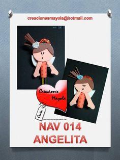 ANGELITA. http://creacionesmayola.blogspot.com.es/