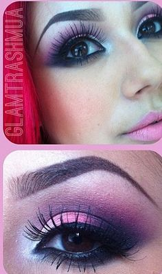 Pink eyeshadow..wonder if i could pull this off