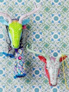 Rice Paper Mache Deer Head Camel and Yak - Online Shop for Green Gate, Rice, Maileg and Jeanne d'Arc Living Products