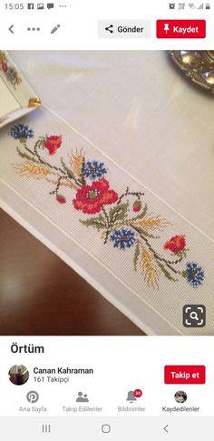 Bargello, Herb, Cross Stitch Embroidery, Towels, Animals, Punto De Cruz, Flowers