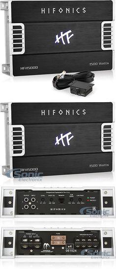 Car Amplifiers: Hifonics Hfi1500d 1500W Rms Monoblock Class D Hfi Series Car Amplifier -> BUY IT NOW ONLY: $149.99 on eBay!