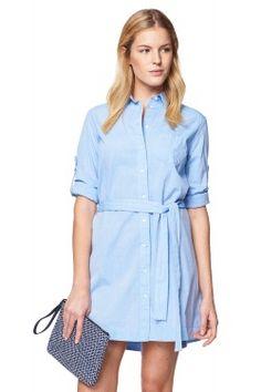 0efb37051b971 Air Chambray Dress Nedbalá Elegancia, Džínsové Outfity, Trendové Outfity,  Móda Na Bežný Deň. GANT US
