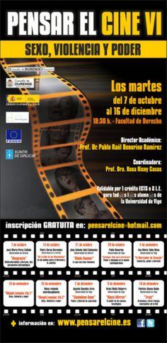 Pensar el cine VI: Sexo, violencia y poder en Facultade de Dereito, Ourense cine cinema